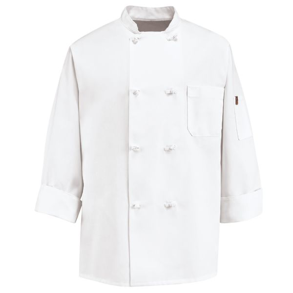 Product Shot - Eight Knot Button Chef Coat