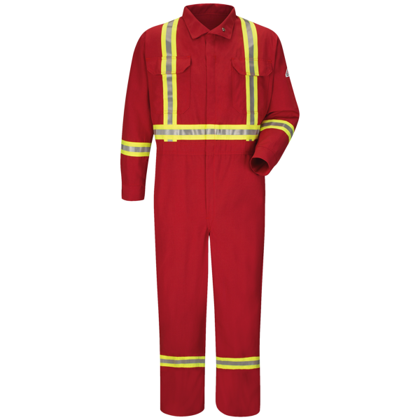 Premium Coverall with CSA Compliant Reflective Trim - Nomex® IIIA