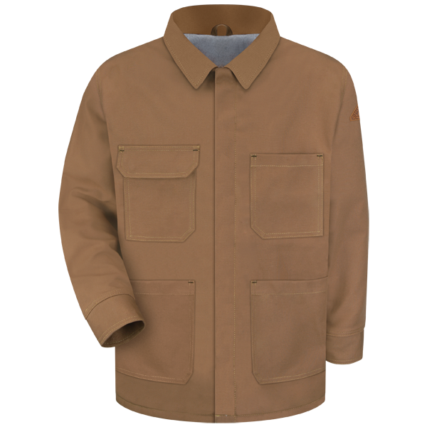 Brown Duck Lineman's Coat - EXCEL FR® ComforTouch®