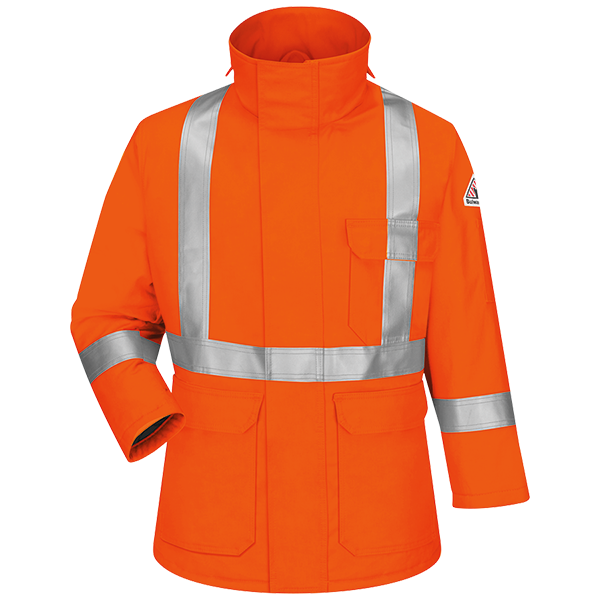 Deluxe Parka With CSA Reflective Trim - EXCEL FR® ComforTouch®