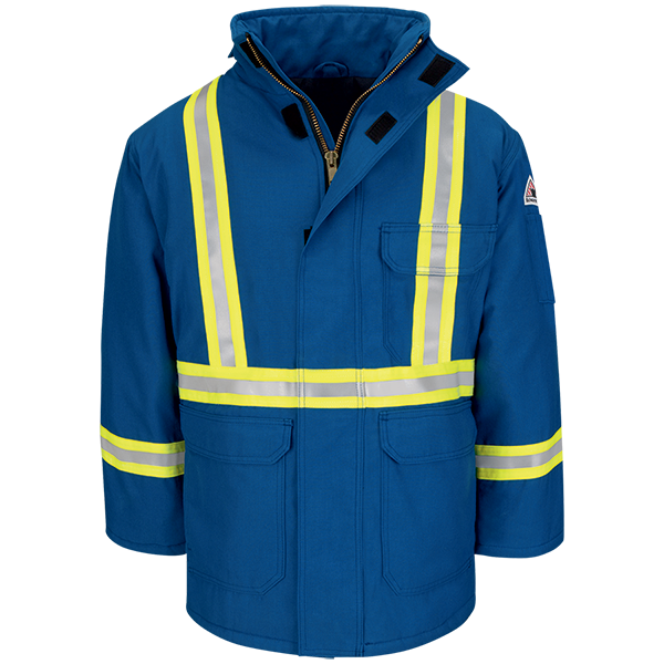 Deluxe Parka with CSA Reflective Trim - Nomex® IIIA