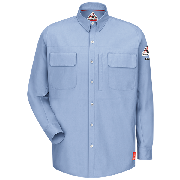 iQ Series® Long Sleeve Patch Pocket Shirt