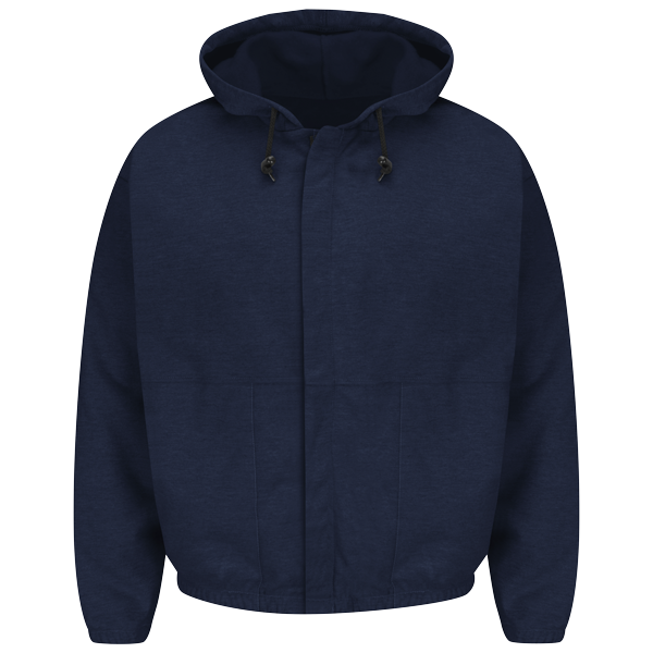 Zip-front Hooded Sweatshirt - EXCEL FR®