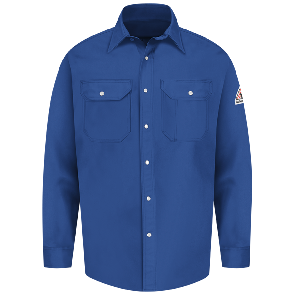 Snap-Front Uniform Shirt - EXCEL FR® - 7 oz.