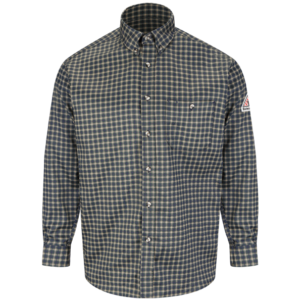 Plaid Dress Shirt - EXCEL FR® ComforTouch® - 6.5 oz.