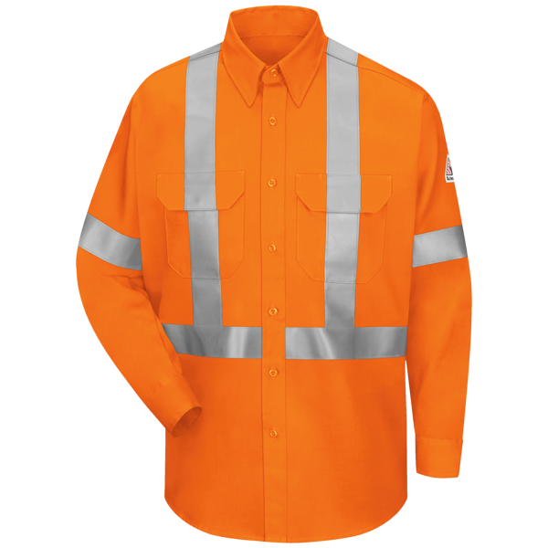 Work Shirt With CSA Compliant Reflective Trim - EXCEL FR® ComforTouch® - 6 oz.