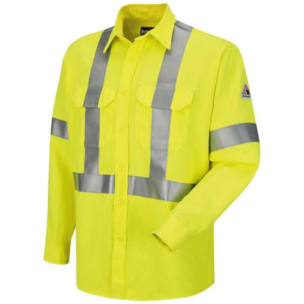 Hi-Visibility Uniform Shirt with CSA Reflective Trim - CoolTouch® 2 - 7 oz.