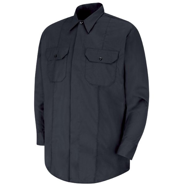 Product Shot - New Dimension® Concealed Button Front Long Sleeve Shirt