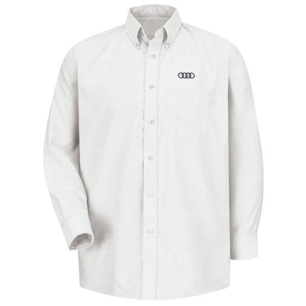 Audi® Men's Long Sleeve Executive Oxford Dress Shirt