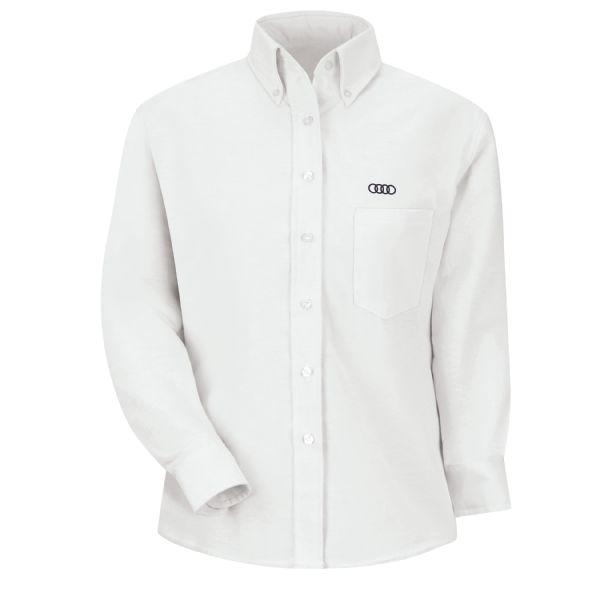 Audi® Women's Long Sleeve Executive Oxford Dress Shirt