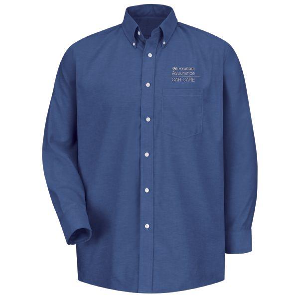 Hyundai® Assurance Car Care Men's Long Sleeve Executive Oxford Dress Shirt