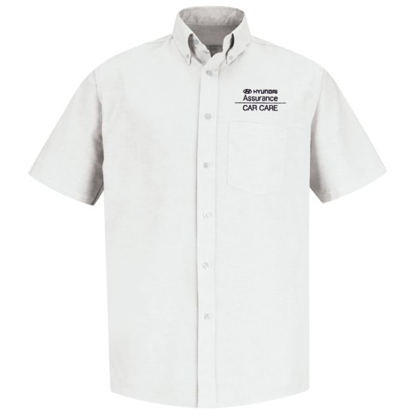 Hyundai® Assurance Car Care Men's Short Sleeve Executive Oxford Dress Shirt