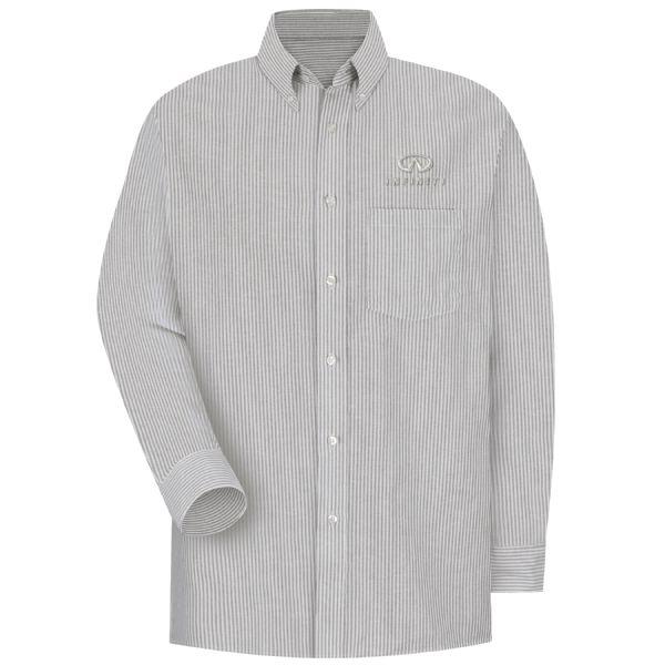 Infiniti® Men's Long Sleeve Executive Oxford Dress Shirt