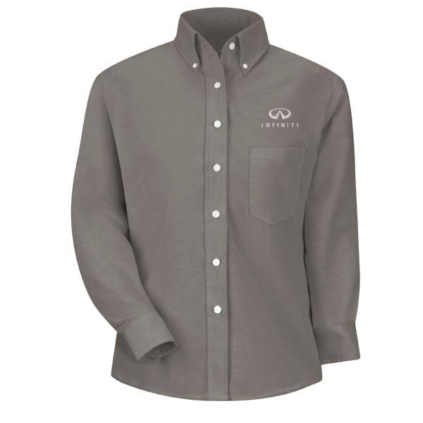 Infiniti® Women's Long Sleeve Executive Oxford Dress Shirt