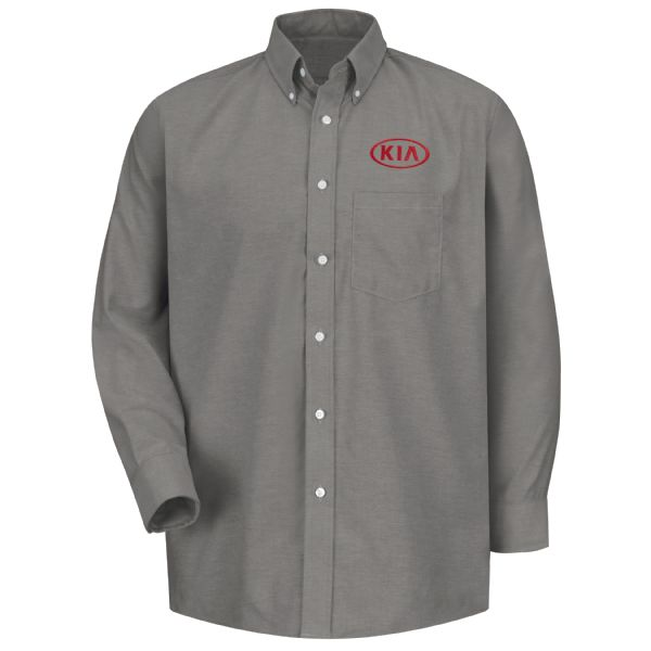 Kia® Men's Long Sleeve Executive Oxford Dress Shirt