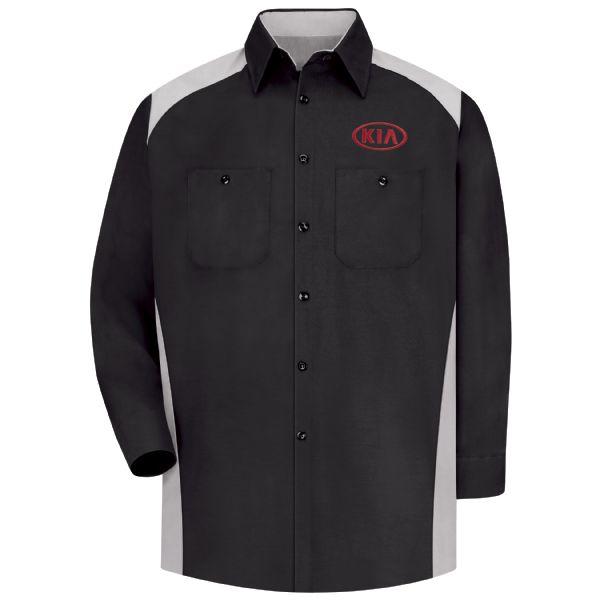 Kia® Men's Long Sleeve Motorsports Shirt
