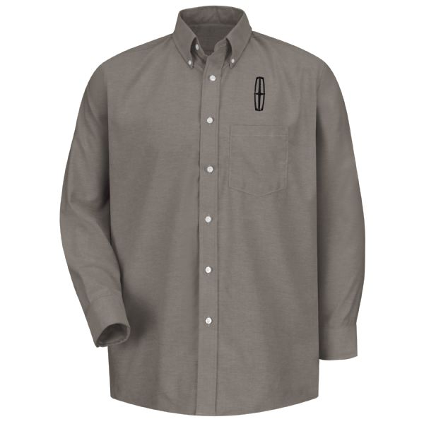 Lincoln® Men's Long Sleeve Executive Oxford Dress Shirt