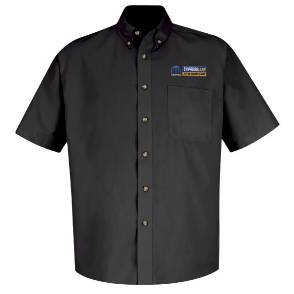 Mopar® Express Lane Men's Short Sleeve Meridian Performance Twill Shirt