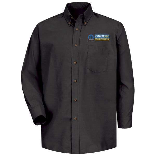 Mopar® Express Lane Men's Long Sleeve Poplin Dress Shirt