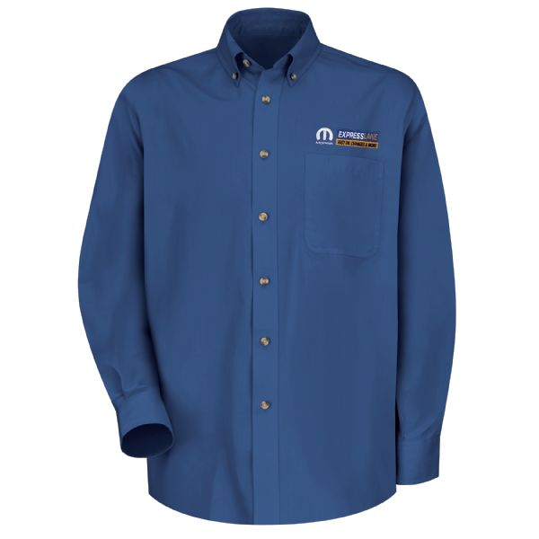 Mopar® Express Lane Men's Long Sleeve Meridian Performance Twill Shirt