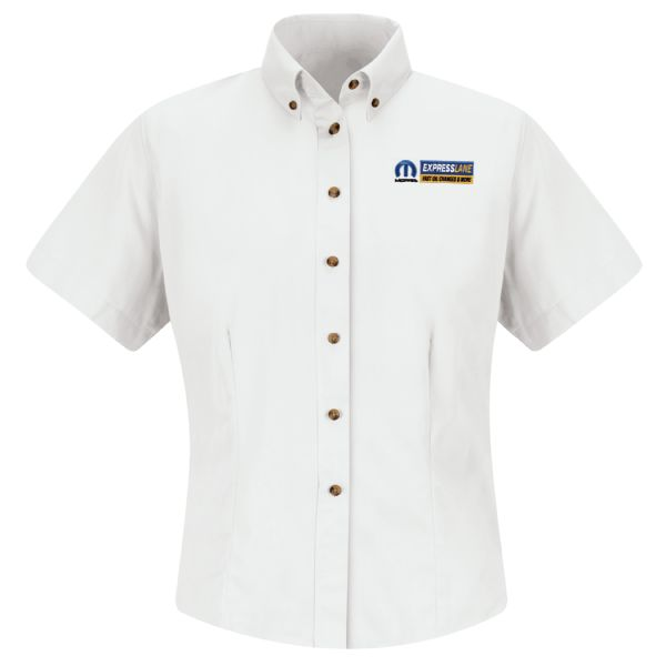 Mopar® Express Lane Women's Short Sleeve Meridian Performance Twill Shirt