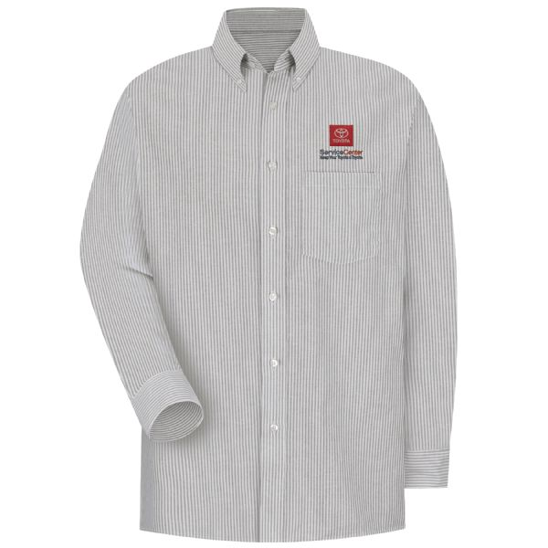 Toyota® Men's Long Sleeve Executive Oxford Dress Shirt