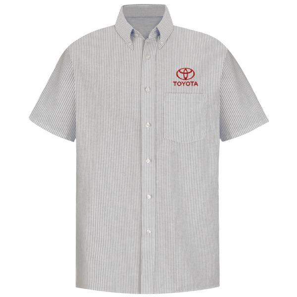 Toyota® Men's Short Sleeve Executive Oxford Dress Shirt