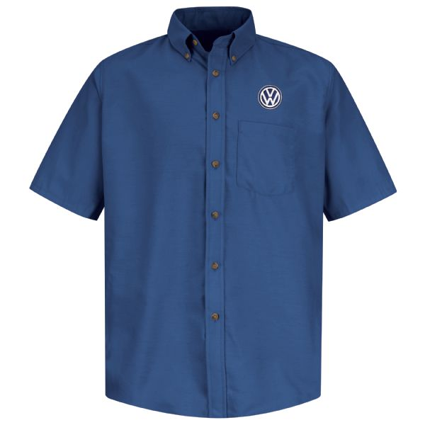 Volkswagen® Men's Short Sleeve Poplin Dress Shirt