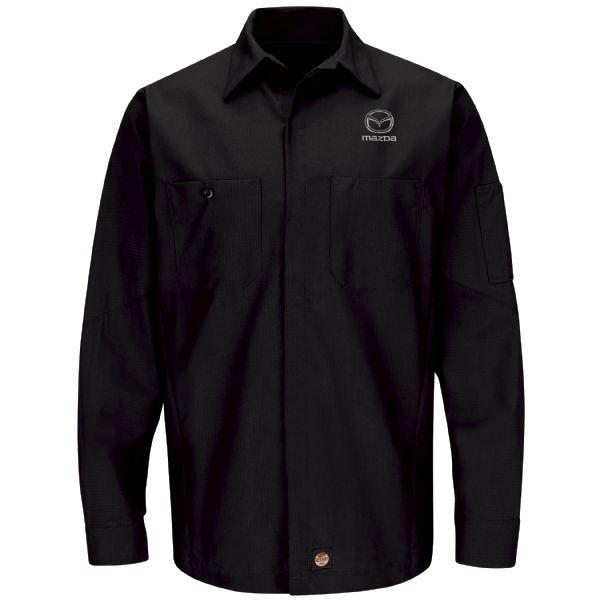 Mazda® Men's Long Sleeve Crew Shirt