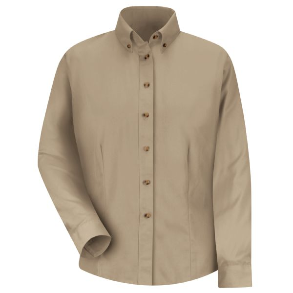 Product Shot - Women's Long Sleeve Meridian Performance Twill Shirt