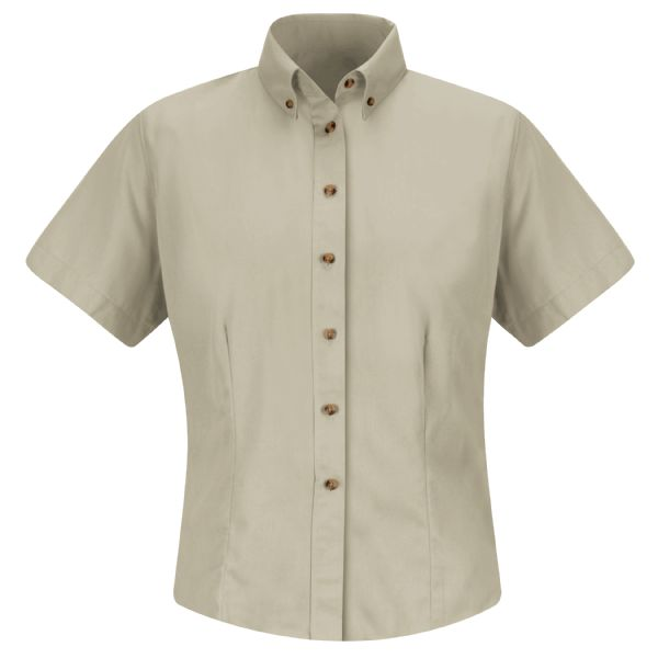 Women's Short Sleeve Meridian Performance Twill Shirt