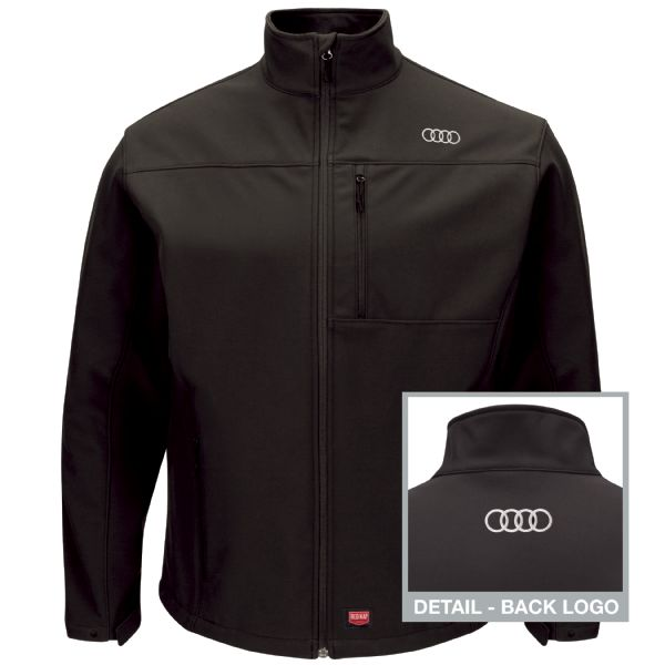 Audi® Men's Deluxe Soft Shell Jacket