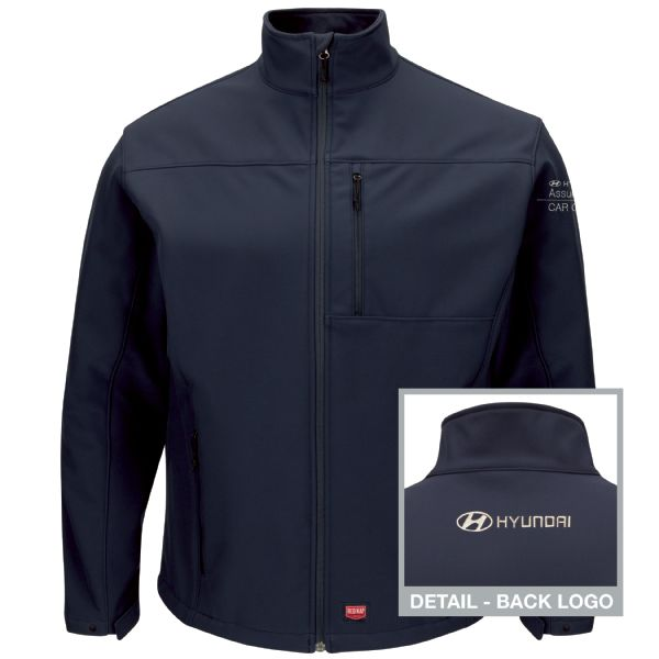 Hyundai® Assurance Car Care Men's Deluxe Soft Shell Jacket