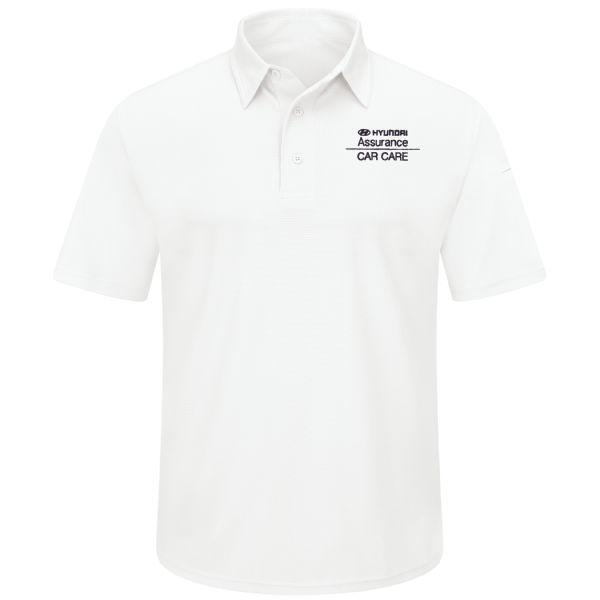 Hyundai® Assurance Car Care Men's Short Sleeve Performance Knit® Flex Series Pro Polo
