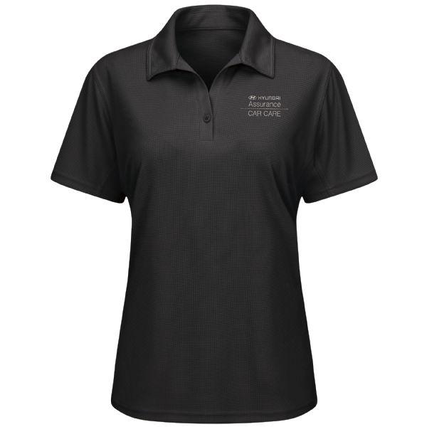 Hyundai® Assurance Car Care Women's Short Sleeve Performance Knit® Flex Series Pro Polo