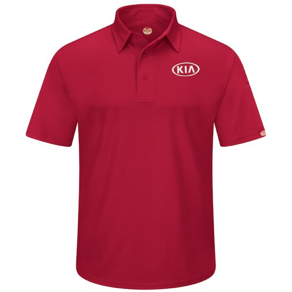 Kia® Men's Short Sleeve Performance Knit® Flex Series Pro Polo