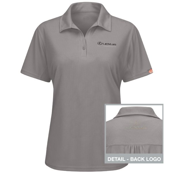 Lexus® Women's Short Sleeve Performance Knit® Flex Series Pro Polo