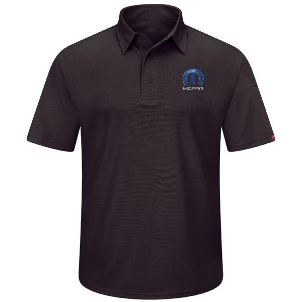 Mopar® Men's Short Sleeve Performance Knit® Flex Series Pro Polo