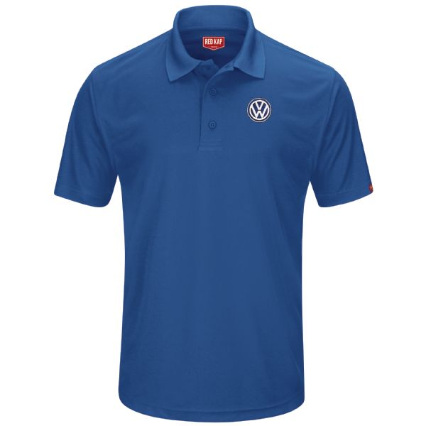 Volkswagen® Men's Short Sleeve Performance Knit® Pocketless Core Polo