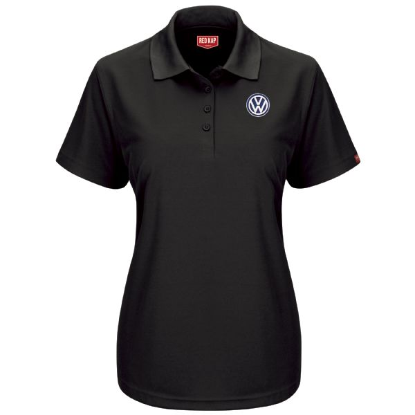Volkswagen® Women's Short Sleeve Performance Knit® Pocketless Core Polo