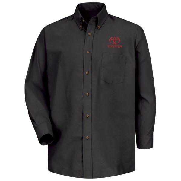 Toyota® Men's Long Sleeve Poplin Dress Shirt