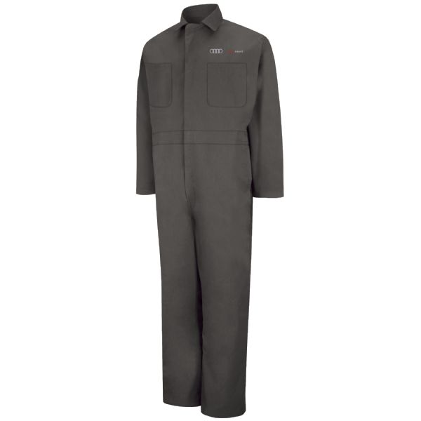 Audi® Assist Twill Action Back Coverall