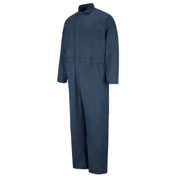 Product Shot - Button-front Cotton Coverall