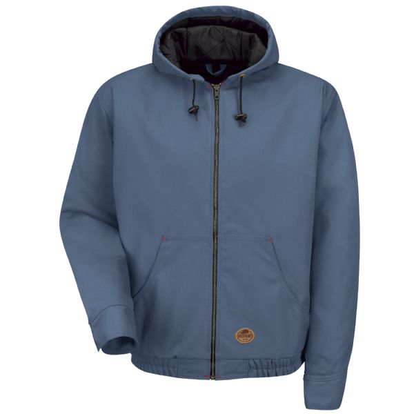 Product Shot - Blended Duck Zip-Front Hooded Jacket