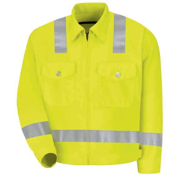 Product Shot - Hi-Visibility Ike Jacket - Class 2 Level 2