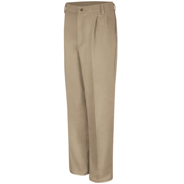 Product Shot - Pleated Front Cotton Pant