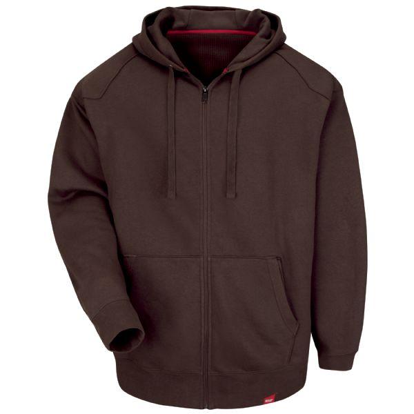 Workwear Zip Front Hoodie