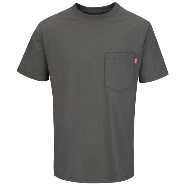 Workwear Solid Color T-Shirt