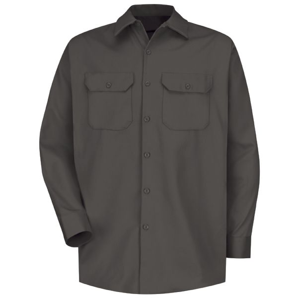 Product Shot - Men's Long Sleeve Deluxe Heavyweight Cotton Shirt