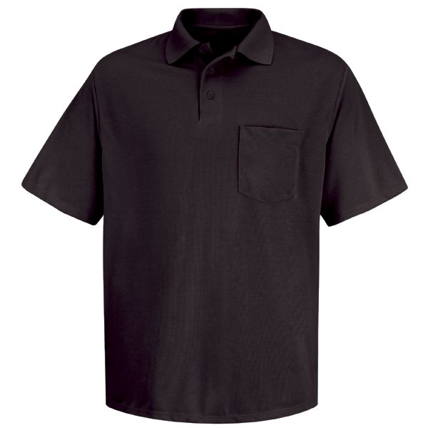 Product Shot - Men's Short Sleeve Spun Polyester Pocket Polo